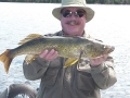 Pat with 30 inch walleye