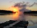 Zimmerman sunrise
